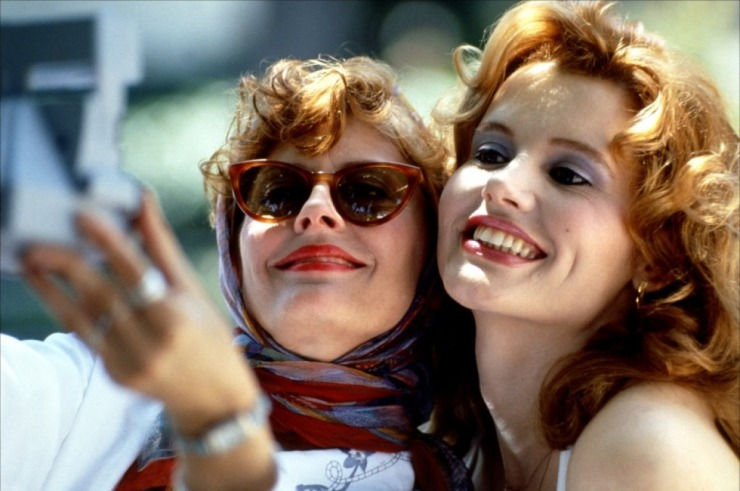 You be Thelma I'll be Louise