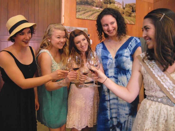 Bachelorette Wine Tasting 2