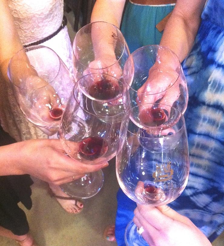 Bachelorette Wine Tasting