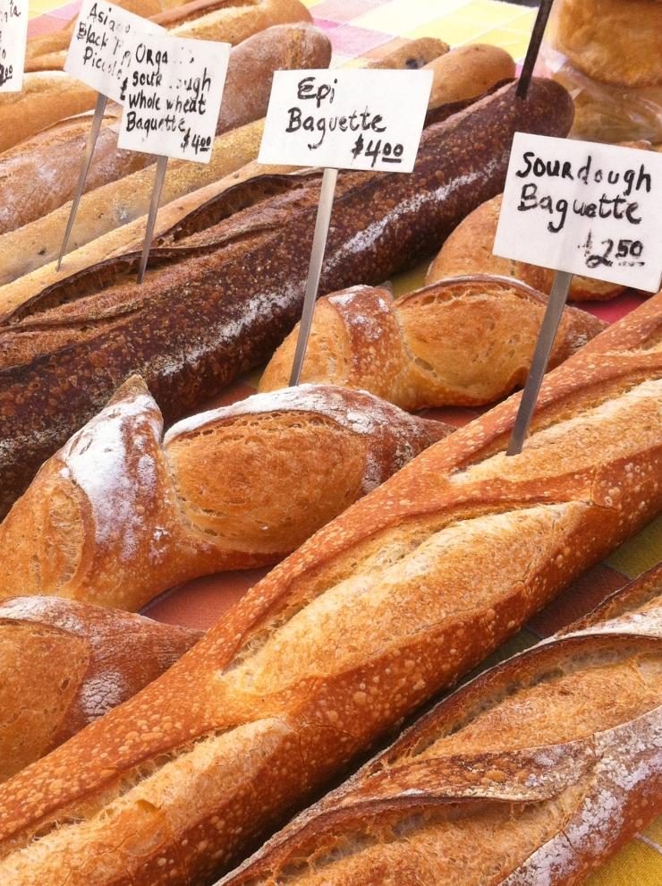 Farmers market  loaves